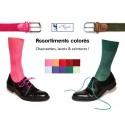 - Chemises à col cassé & Accessoires de couleurs