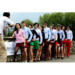 Pantalons ( Bordeaux / Marine / Rouge / Pomme )