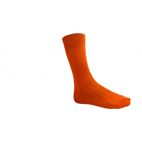 Chaussettes tons Orange, Jaune