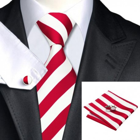 Cravate CLUB ROUGE