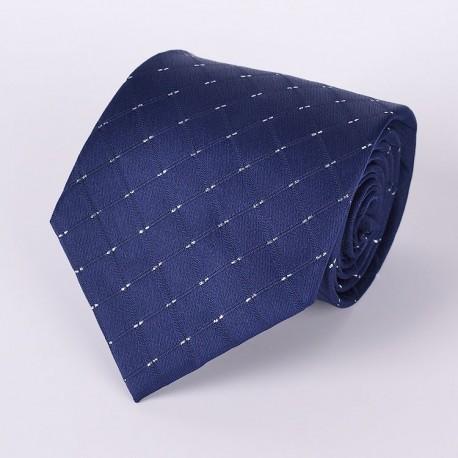 Cravate Bleu marine à motif
