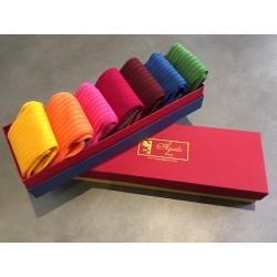 Semainier (7 paires) de chaussettes Fil d'Ecosse