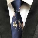 Cravate Bleu Polo